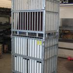 Transportbox - Rohrauskleidung