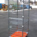 Rollbehälter - Safe - Tür geteilt