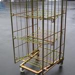 Rollbehälter - Trennwand