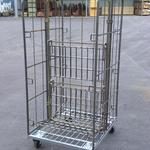 Rollbehälter - Metall - Trennwand