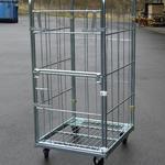 Rollbehälter - Metall Vorderwand